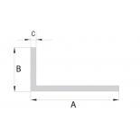 Začišťovací rohový profil - bílé