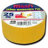 Lakýrnická páska žlutá - PCV