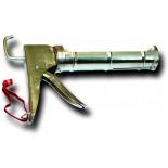 Vytlačovací pistole chromovaná polootevřená