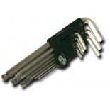 Imbus klíče s kuličkou - sada 9 ks